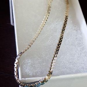 """925 Italy Silver Bracelet 3.36g, Sz 8""""in"""